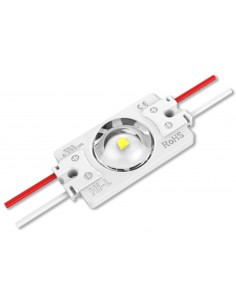 LED backlight module 12V 1.32W 125Lm white 7000K 160° IP68