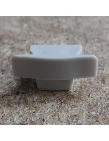 Geschlossene Endkappe für HL-ALU003 (Vertieft LED Profil Extrusion)