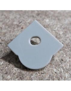 Öffnen Endkappe für HL-ALU007S (Optische Linsen Ecke Profil Extrusion 60°)