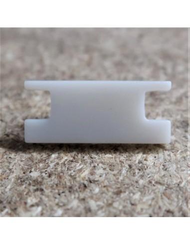 Geschlossen End Cap for HL-ALU009 ( Fußboden Vertieft Profil Extrusion Höhe 8.5mm)