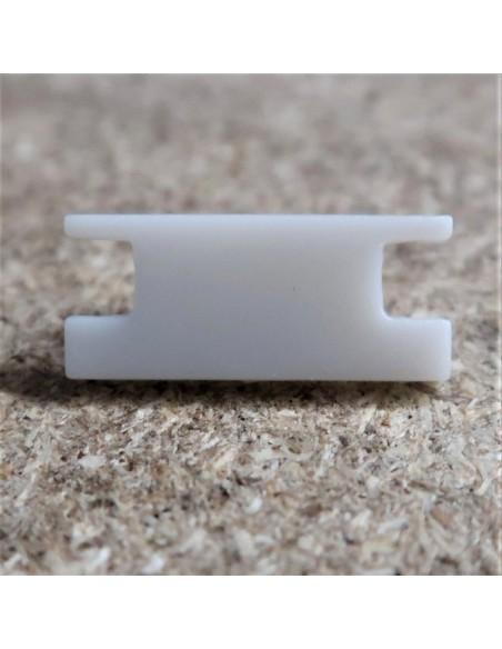 Geschlossen Endkappe für HL-ALU009 ( Fußboden Vertieft Profil Extrusion Höhe 8.5mm)