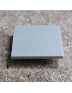 Closed End Cap for HL-ALU019 (Floor Recessed Extrusion height 25.9mm)
