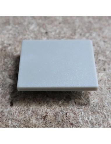Geschlossen Endkappe for HL-ALU019 (Fußboden Vertieft Profil Extrusion Höhe 25.9mm)
