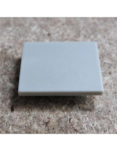 Geschlossen Endkappe für HL-ALU019 (Fußboden Vertieft Profil Extrusion Höhe 25.9mm)