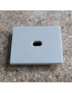 Open End Cap for HL-ALU019 (Floor Recessed Extrusion height 25.9mm)