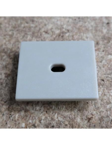 Öffnen Endkappe für HL-ALU019 (Fußboden Vertieft Profil Extrusion Höhe 25.9mm)
