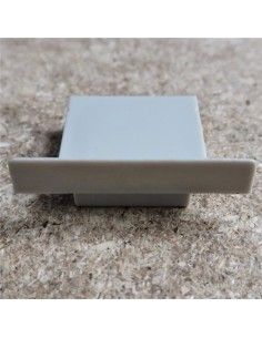 Geschlossen Endkappe for HL-ALU085 (Vertieft LED Profil Extrusion)