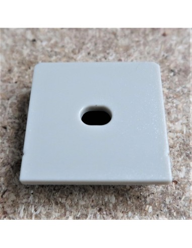 Open End Cap for HL-ALU086 (Trimless Recessed LED Profile Extrusion)