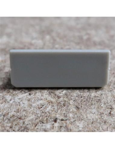 Geschlossen Endkappe for HL-ALU087 (Trimless Vertieft LED Profil Extrusion)