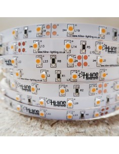 Warm White LED Strip 24V-4.8W/m- IP00-CRI80-SMD3528