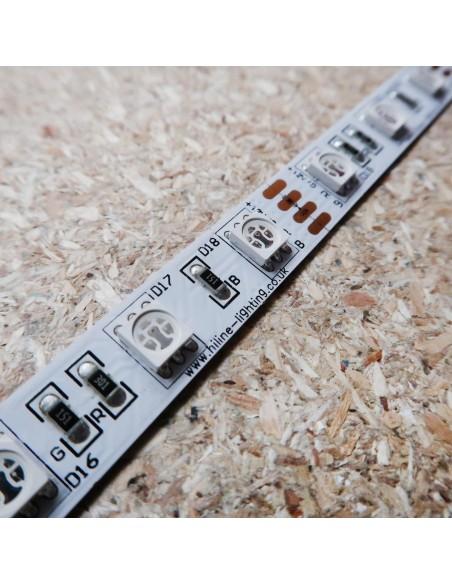 RGB LED-Streifen 12V-14,4W/m- IP00-SMD5050