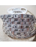 Red IP20 LED strip, 3528-SMD, 60LEDs/m, 4.8W/m, 24V DC, 5 meters roll