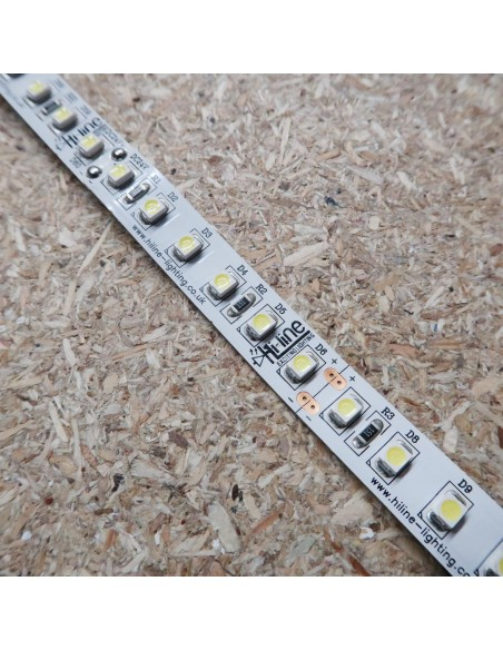 Cool White LED Strip 24V-9.6W/m- IP00-CRI80-SMD3528