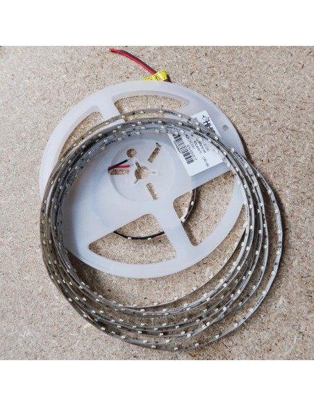 Kaltweißer LED-Streifen 24V-4,8W/m- IP00-CRI80-SMD3528