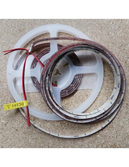 Kaltweißer LED-Streifen 24V-14,4W/m- IP65-CRI80-SMD2835