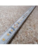 Warm White LED Strip 24V-28.8W/m- IP68-CRI80-SMD2835
