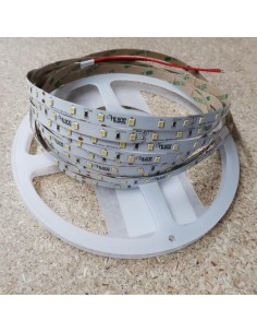 Warm White LED Strip SMD2835 IP65, 14.4W / 60 LEDS per meter, 5 meters roll