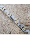Hochbiegsamer Naturweißer LED-Streifen 24V-14,4W/m IP65-PU CRI80 SMD2835