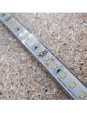 IP68 naturweißer LED-Streifen 24V 28.8W/m CRI80 SMD2835