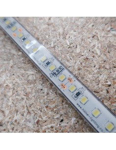 IP68 Cool White LED Strip 24V 28.8W/m CRI80 SMD2835