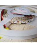 Hochbiegsamer Warmweißer LED-Streifen 24V-14,4W/m IP65-PU CRI80 SMD2835
