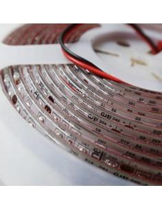 Blue LED Strip 24V 9.6W/m-IP65-10mm wide-5m roll-SMD3528