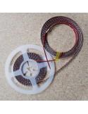 LED-Streifen Blau 9,6W/m 24V IP65 SMD3528