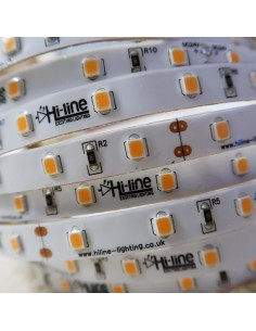 Extra warm white LED Strip 24V-14.4W/m IP65 (Nano-PU) CRI90 SMD2835 chip