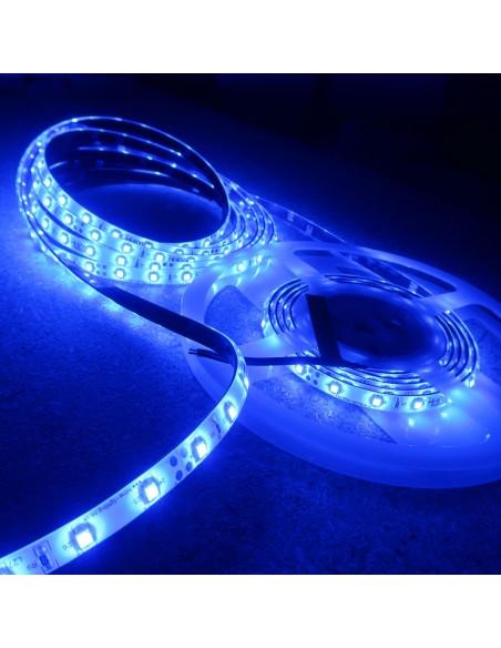 LED-Streifen Blau 4.8W/m 24V IP65 SMD3528