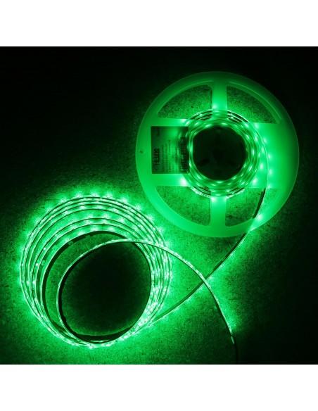 LED-Streifen Grün 4.8W/m 24V IP65 SMD3528
