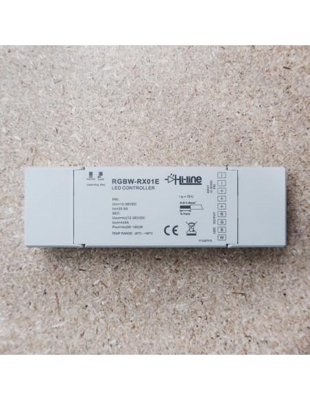 Dimmbarer, 4Kanal, Funk Controller für RGB/RGBW und einfarbige LED-Streifen
