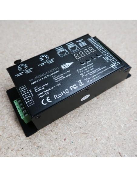 DMX512 Decoder/controller 5 channels 16bit