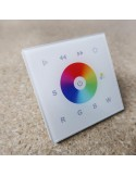 Wall mount RGBW DMX512 LED controller single zone