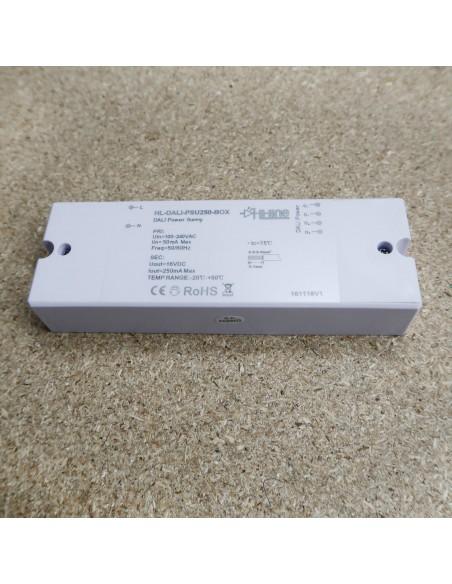 DALI Stromversorgung 250mA 16 Volt (Aufputzmontage)