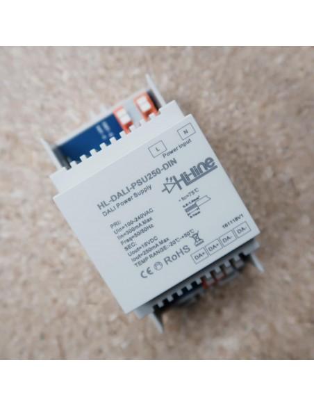 DALI-Stromversorgung 250mA 16 Volt DIN-Schiene