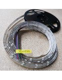 Waterproof RGB LED Strip 24V, 7.2W per meter