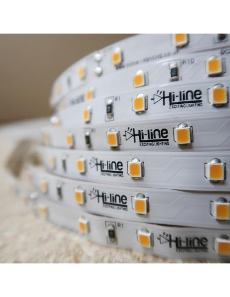 Warmweißer LED-Streifen 24V-14,4W/m- IP00-CRI90-SMD2835