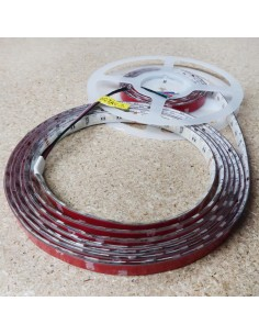 14,4W/m 24V RGB+KW IP65-PU CRI80 LED-Streifen 12mm/2oz PCB 5m Rolle