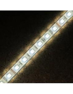14,4W/m 24V RGB+KW IP68-PU (Polyurethane Schutzsicht) CRI80 LED-Streifen SMD5050