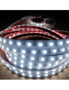 RGBW LED-Streifen (RGB+KW) 24V-14,4W/m- IP67-CRI80-SMD5050