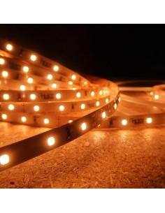Extra Warm White LED Strip 24V-14.4W/m- IP00-CRI90-SMD2835