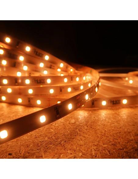 Extra-Warmweißer LED-Streifen 24V-14,4W/m- IP00-CRI90-SMD2835