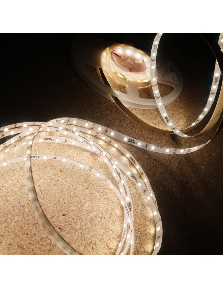 Natural White LED Strip 24V-14.4W/m- IP65 Nano-CRI90-SMD2835