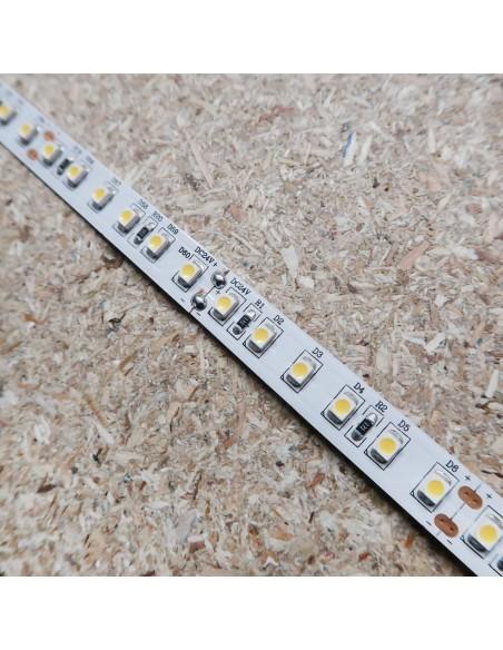 Naturweißer LED-Streifen 24V-9,6W/m- IP00-CRI80-SMD3528