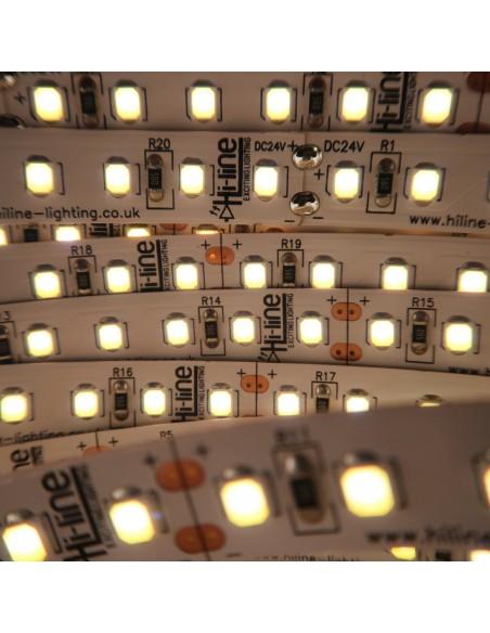 Naturweißer LED-Streifen 24V-28,8W/m- IP00-CRI90-SMD2835