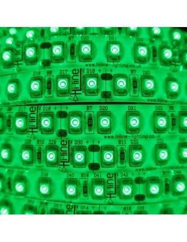 LED-Streifen Grün 9,6W/m 24V IP65 SMD3528