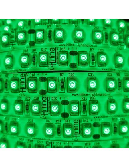 LED-Streifen Grün 9,6W/m 24V IP54/65 SMD3528