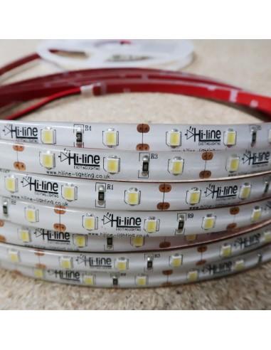 Kaltweißer LED Streifen 12V 14.4W/m IP65 CRI80 SMD2835