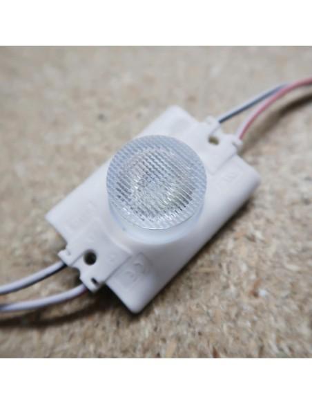 LED Edge lighting light box module 12V 2.5W 7000K 15°*45° IP68 (60 pcs)