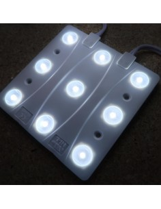 LED backlight module 12V 7W 650Lm white 7000K beam angle 170° IP65